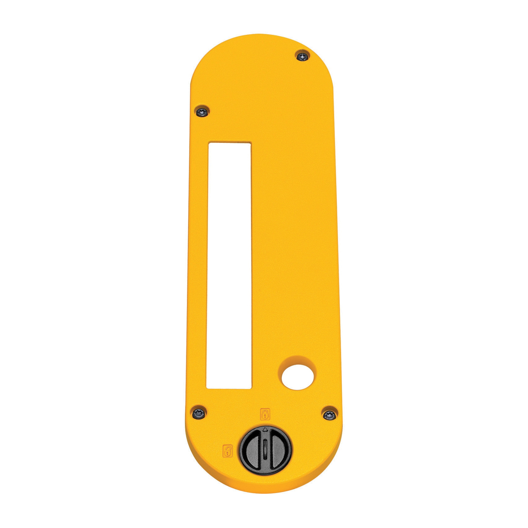 DeWALT® DW7444 Dado Throat Plate, For Use With DeWALT® DW744X Table Saw and Stacked Dado Cutters, Yellow
