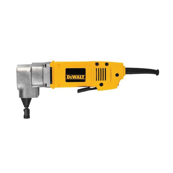 DeWALT® DW898 Corded Heavy Duty Electric Nibbler, 14 ga Mild Steel, 16 ga Stainless Steel Cutting, 5/8 in Cutting Radius, 1950 spm, 120 VAC, Aluminum Alloy Housing, 10-1/2 in OAL