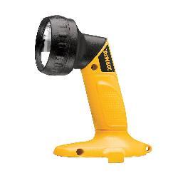 DeWALT® DW908 Rechargeable Pivoting Head Cordless Flashlight With Pivoting Head, Xenon Lamp, 18 VDC, 3 hr Run-Time Ni-Cd Battery