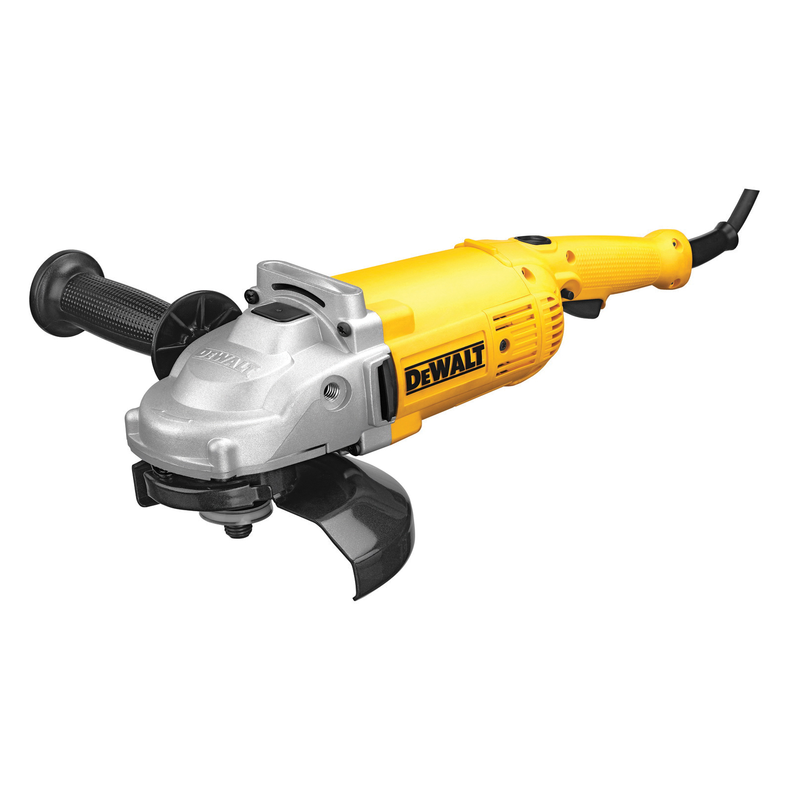 DeWALT® DWE4517 Large Angle Grinder, 7 in Dia Wheel, 5/8-11 Arbor/Shank, 120 VAC, Yellow, Lock-ON/OFF Trigger Switch