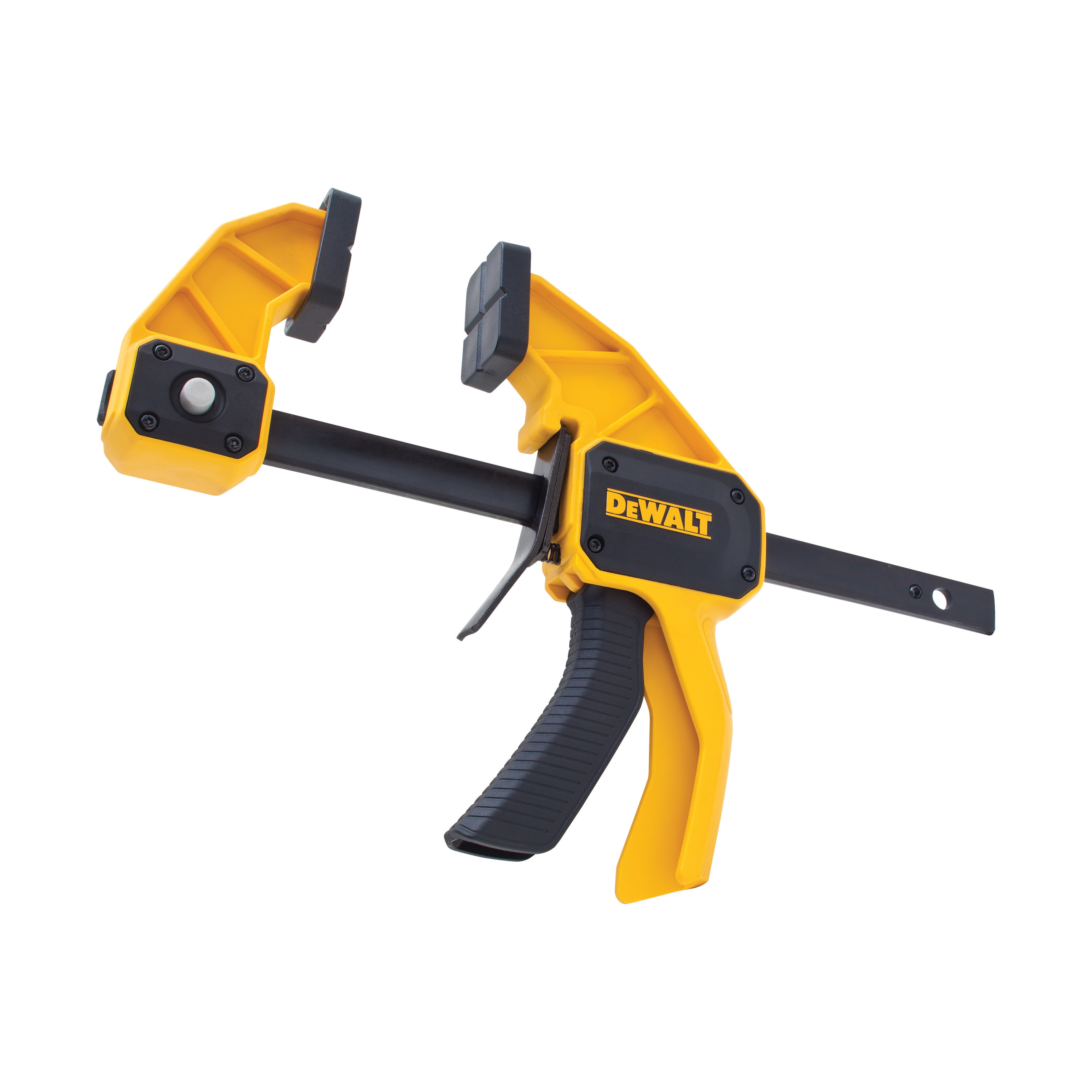 DeWALT® DWHT83192 1-Handed Large Trigger Clamp, 6 in Clamping, 3-1/4 in D Throat, Steel Bar