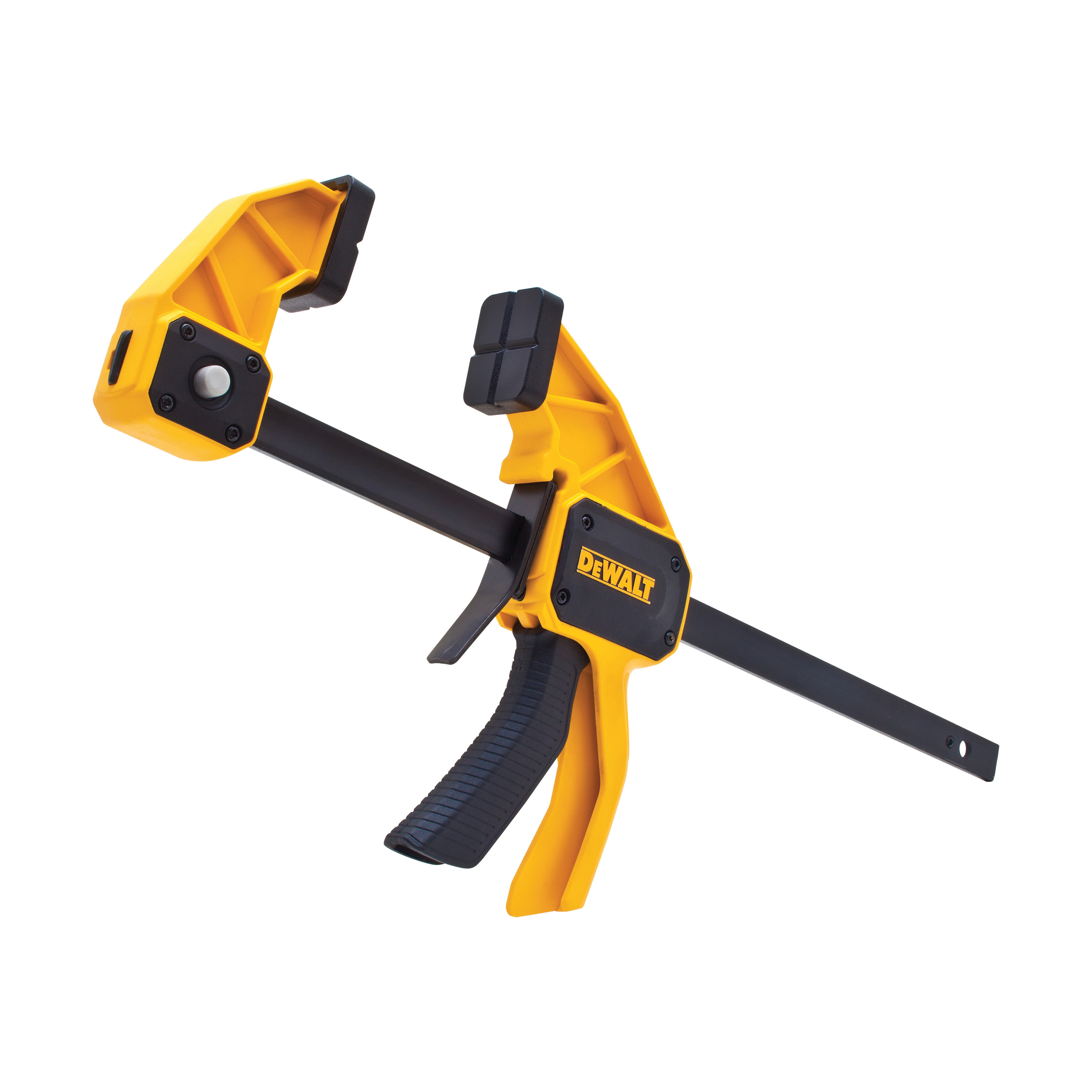 DeWALT® DWHT83193 1-Handed Large Trigger Clamp, 12 in Clamping, 3-1/4 in D Throat, Steel Bar