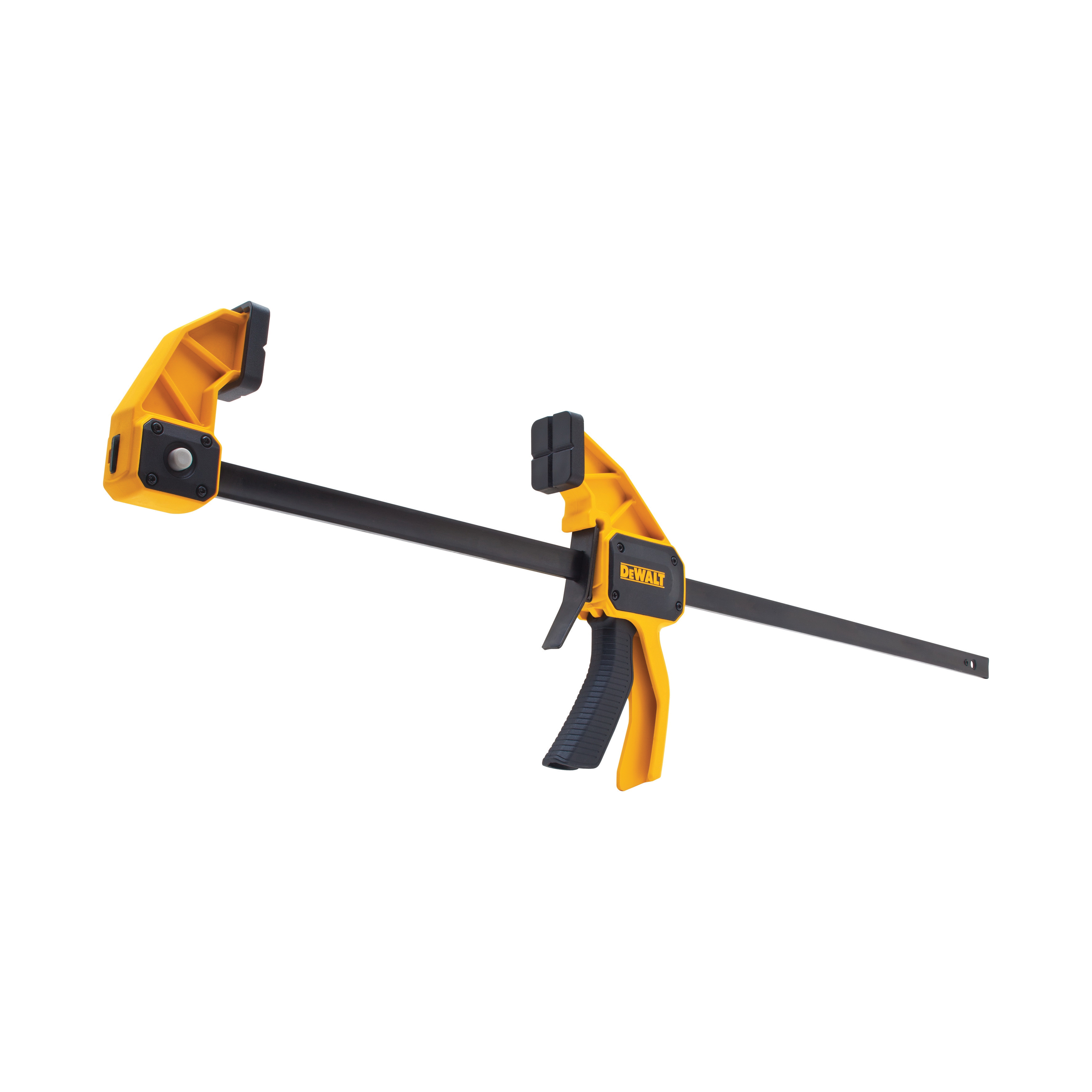 DeWALT® DWHT83194 1-Handed Large Trigger Clamp, 24 in Clamping, 3-1/4 in D Throat, Steel Bar