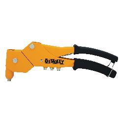 DeWALT® DWHTMR77C Heavy Duty Hand Riveter, 3/32 in, 1/8 in, 5/32 in, 3/16 in Rivet, Cast Aluminum