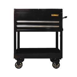 DeWALT® DWMT78088 Sliding Top Utility Cart, 32 in W x 41 in H, 500 lb Load, Black