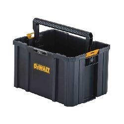 DeWALT® TSTAK® DWST17809 Open Tote, Plastic, Black/Yellow