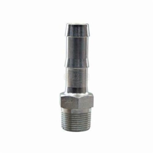 Dixon® KHN442 King™ Hex Nipple, 1/2-14 x 1/2 in Nominal, MNPT x Hose, Steel, Plated, Domestic