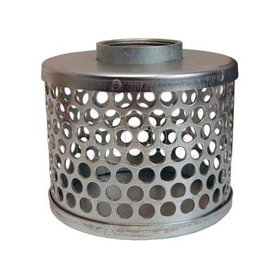 Dixon® RHS35 Standard Round Hole Strainer, 3 in, Steel