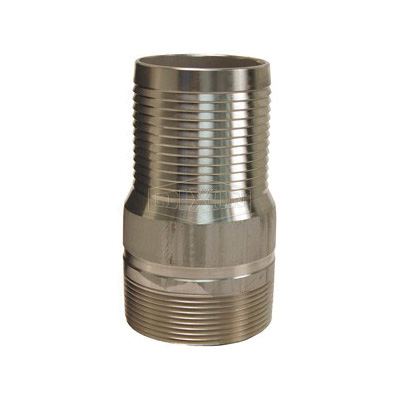 Dixon® RST40 King™ Combination Nipple, 4 in x 7-3/16 in L Hose x MNPT, 316 Stainless Steel