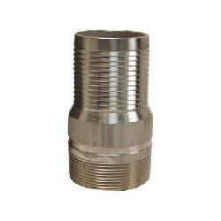 Dixon® RST60 King™ Combination Nipple, 6 in x 11 in L Hose x MNPT, 316 Stainless Steel