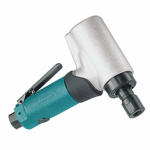 Dynabrade® 52212 Gearless Short Shank Die Grinder, 1/4 in Collet, 0.5 hp, 28 scfm Air Flow, 90 psi, 20000 rpm Speed