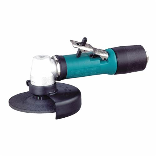 Dynabrade® 52632 Heavy Duty Depressed Center Wheel Grinder, 4-1/2 in Dia Wheel, 5/8-11 Male Arbor/Shank, 1.3 hp, Tool Only