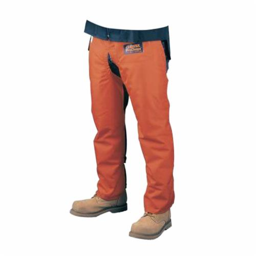Elvex® JE-9036 ProChaps™ Chain Saw Chaps, Safety Orange, 420 Denier Nylon