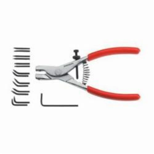 Facom® FA-467 External Retaining Ring-Clip Plier, Smooth Jaw, 7-9/32 in OAL