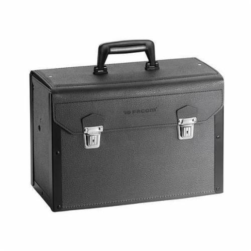 Facom® FT-BV.5A VSE General Purpose Tool Bag, Leather, Black