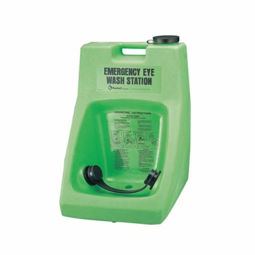 Honeywell 32-000100-0000 Porta Stream® I Portable Eyewash Station, Wall/Stand/Cart Mounting, Gravity Feed Operation, Specifications Met: ANSI Z358.1-2009