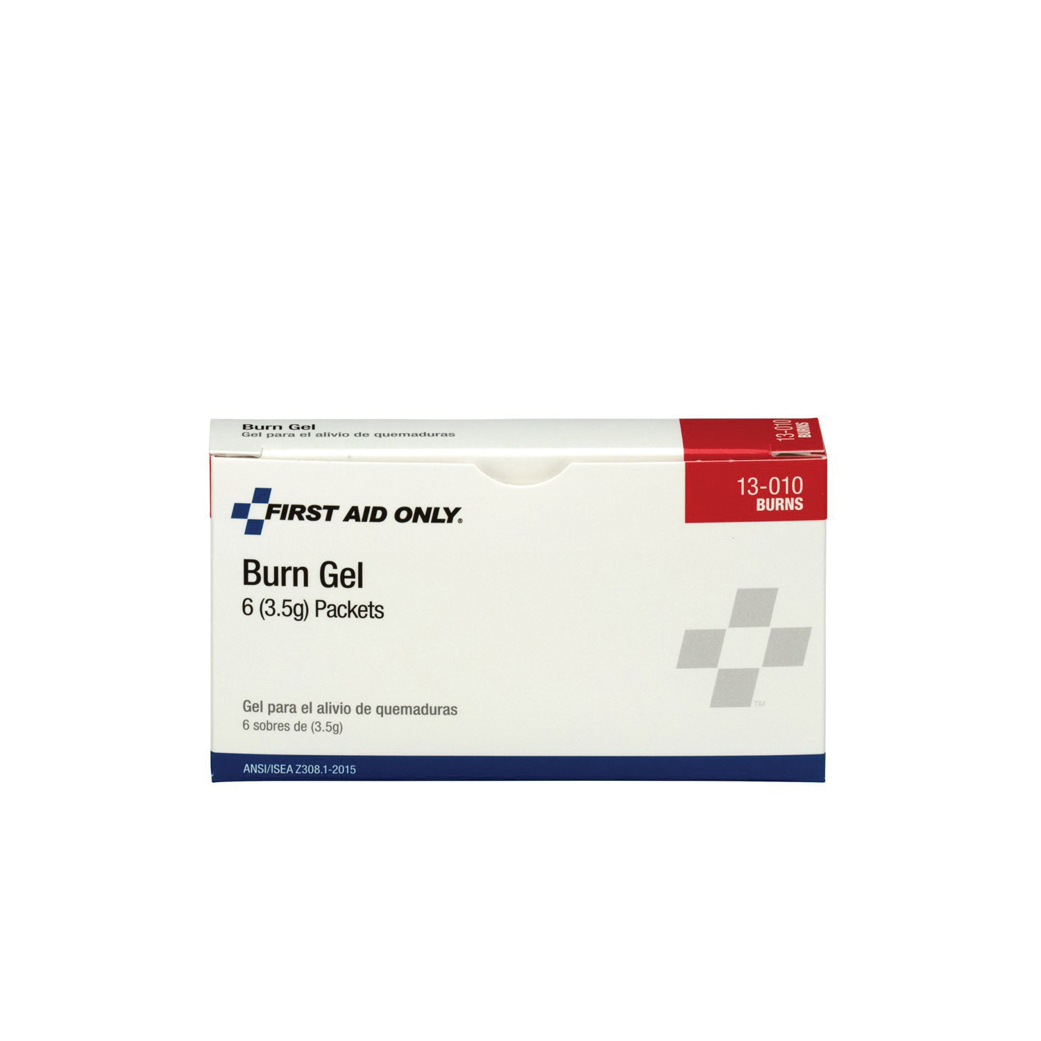 First Aid Only® 13-010 Burn Gel Packet