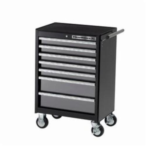 GEARWRENCH® 83155 XL Series Heavy Duty Roller Cabinet, 39 in H x 26-1/2 in W x 18 in D, 20 ga Cabinet Body/22 ga Drawer THK