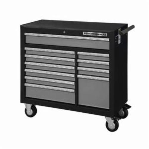GEARWRENCH® 83157 XL Series Heavy Duty Roller Cabinet, 39 in H x 42 in W x 19 in D, 20 ga Cabinet Body/22 ga Drawer THK