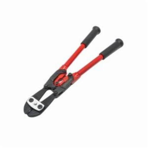 CRESCENT H.K. PORTER® 0090MCD PowerLink™ Bolt Cutter, 3/8 in Soft/Medium Materials Cutting, 18 in OAL, Center Cut, Hardened Alloy Steel Jaw