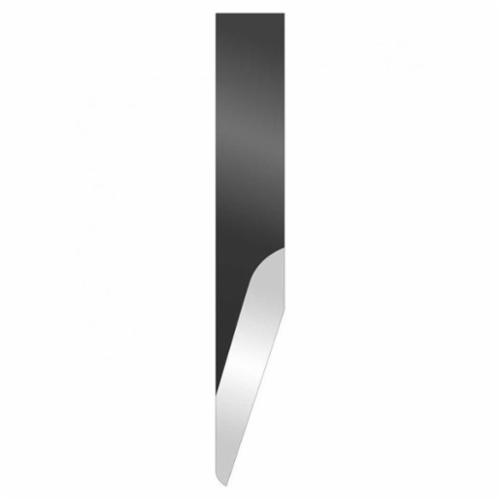 Hyde® 62810 Mill Blade, High Carbon Chrome Vanadium Steel, Flat/Ground Blade, 6-3/8 in L x 3/4 in W Blade, 0.072 in THK