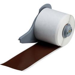 Brady® M71C-2000-595-BR Blank Thermal Transfer Tape, 50 ft L x 2 in W, Brown, B-595 Vinyl, Permanent Acrylic Adhesive, -40 to 180 deg F