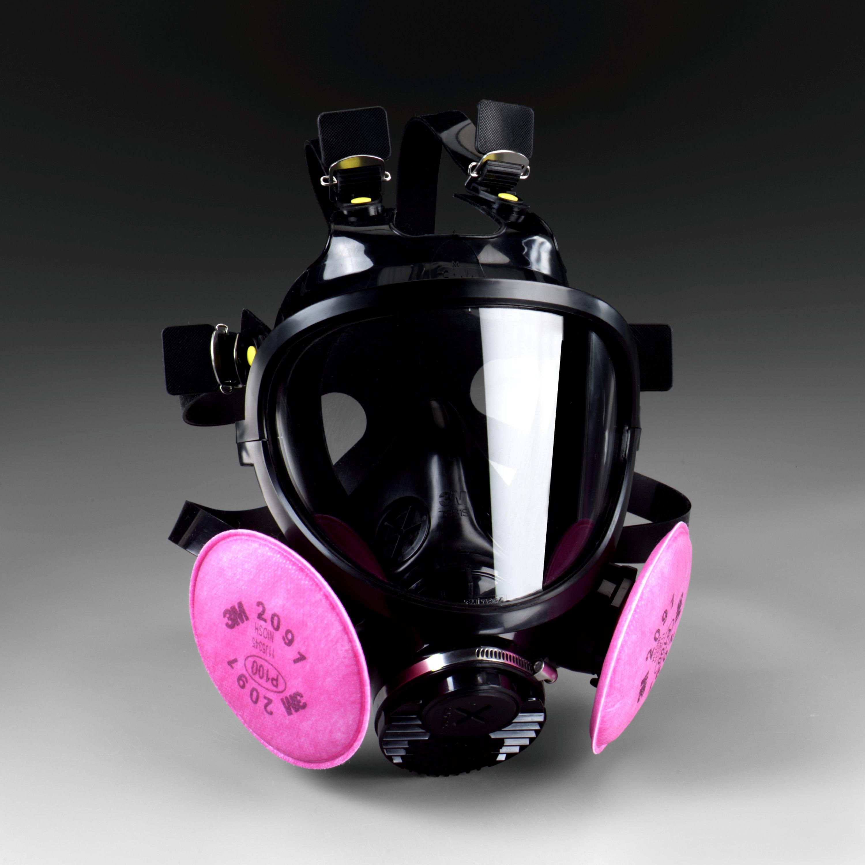 3M™ 7800S-L Reusable Full Facepiece Respirator, L, Bayonet Connection
