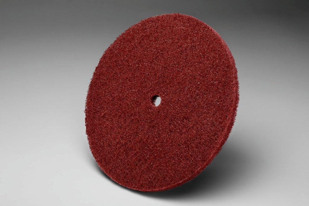 3M™ 048011-27749 HS-DC High Strength High Strength Disc, 8 in Dia Disc, Very Fine Grade, Aluminum Oxide Abrasive, Fiber Backing