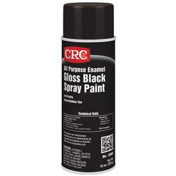 CRC® 18001 All Purpose Enamel Extremely Flammable Spray Paint, 16 oz, Liquid, Yellow, 10 to 12 sq-ft, 1 hr Curing