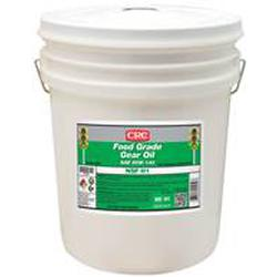 CRC® 04250 Combustible Gear Oil, 5 gal Pail, Mild Odor/Scent, Liquid Form, Food/SAE 85W140/ISO 320 Grade, Clear