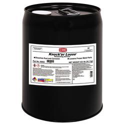 CRC® 03022 Knock'er Loose® Combustible Penetrating Solvent, 5 gal Pail, Liquid, Reddish, 0.86