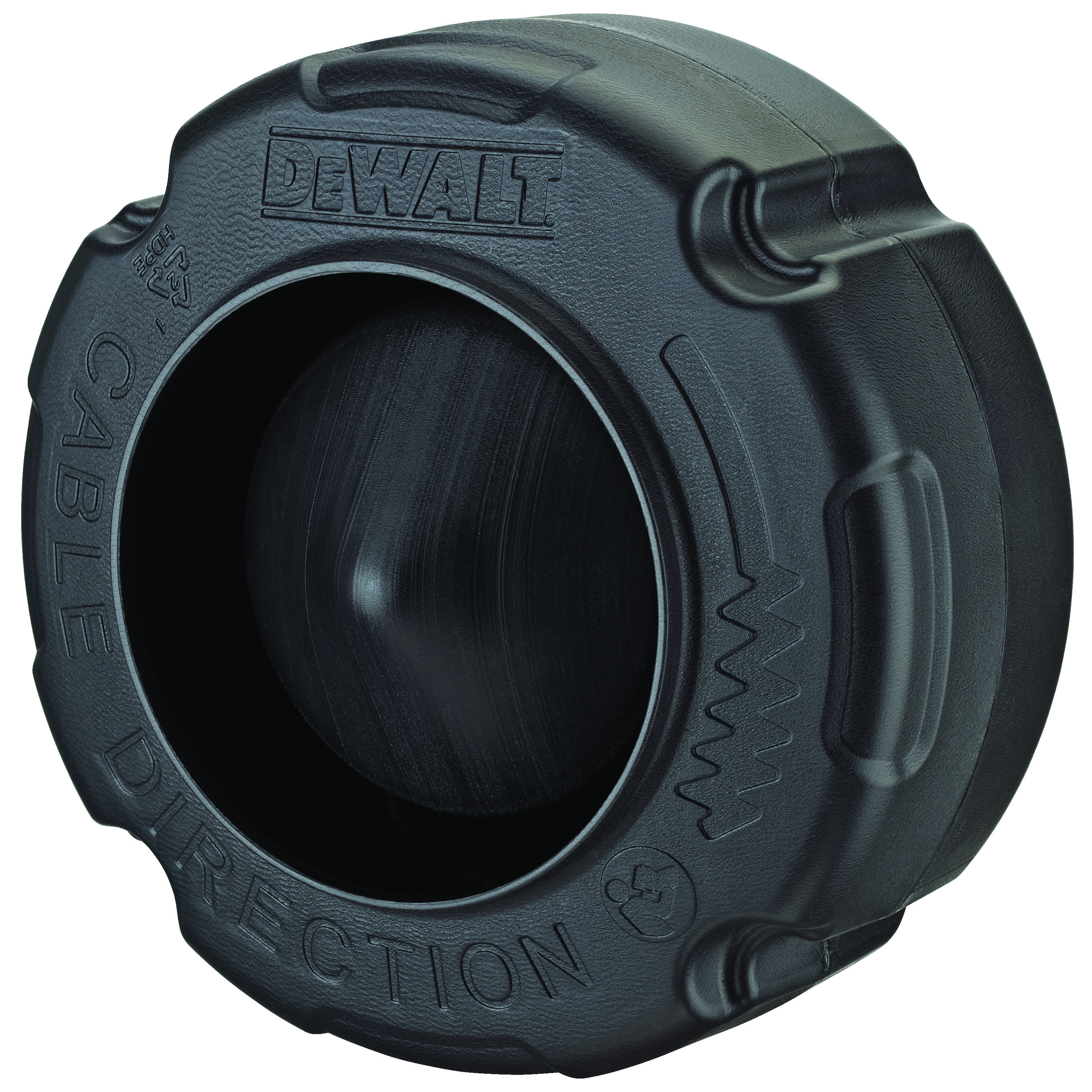 DeWALT® DCD2000 Replacement Drum, For Use With DCD200 Drain Snake, 1/2 in and 3/8 in Hoses, 3/8 in x 35 ft and 5/16 in x 50 ft Cable, Polyethylene Plastic