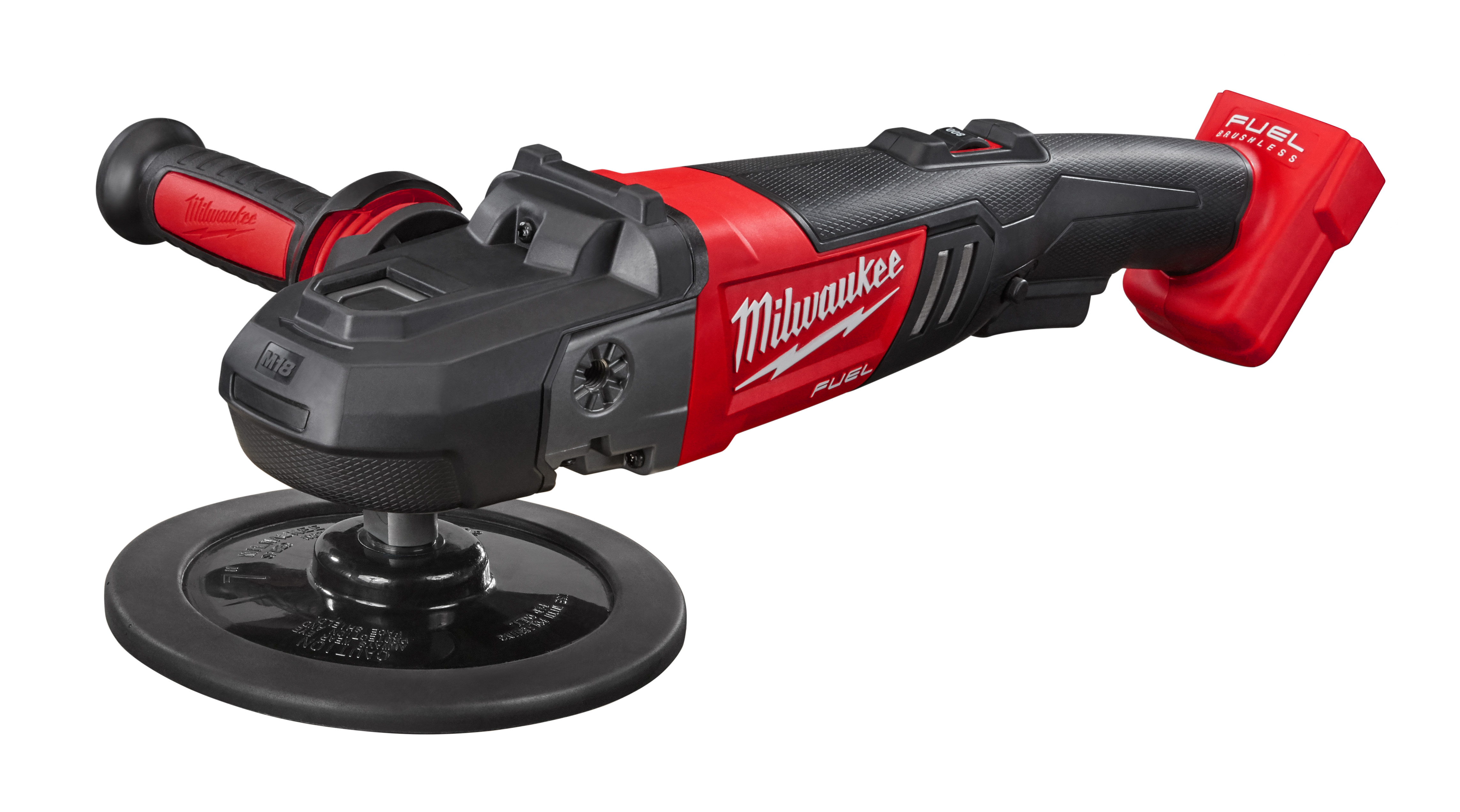 Milwaukee® M18™ FUEL™ 2738-20 Cordless Polisher, 7 in Dia Pad, 18 VDC, Lithium-Ion Battery