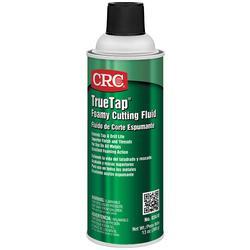 CRC® TrueTap® 03410 Foaming Flammable Oily Cutting Fluid, 16 oz Aerosol Can, Slight Petroleum Odor/Scent, Liquid/Viscous Form, Clear