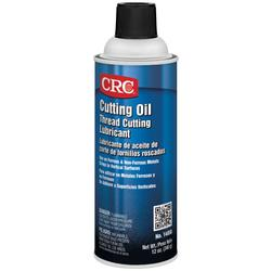 CRC® 14050 All Purpose Flammable Non-Drying Sulfur Free Thread Cutting Oil Lubricant, 16 oz Aerosol Can, Faint Petroleum, Liquid, Brown
