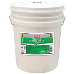 CRC® 04553 Non-Flammable Synthetic Gear Oil, 5 gal Pail, Solvent Odor/Scent, Bright Liquid Form, Food/SAE 140/ISO 680 Grade, Clear