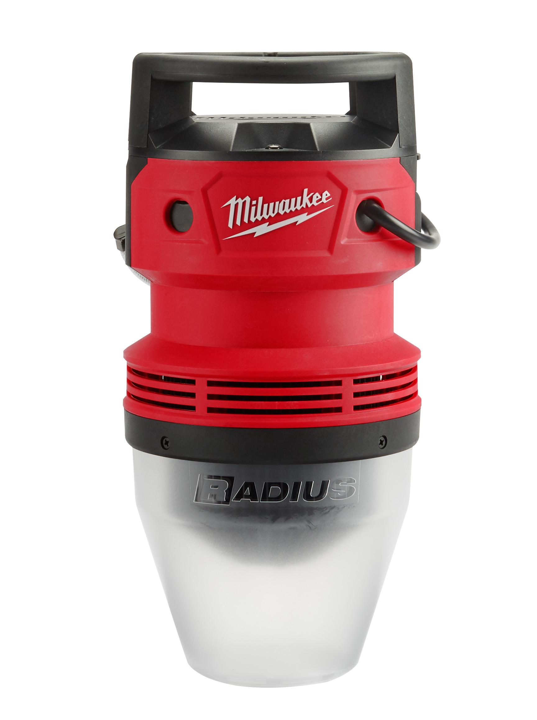 Milwaukee® 2155-AC RADIUS™ 1-Lamp Temporary Job Site Light, LED Lamp, 70 W Lamp, 120 to 277 VAC