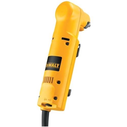 DeWALT® DW160V Right Angle Drill, 3/8 in Keyed Chuck, 10-1/4 in OAL, 120 VAC