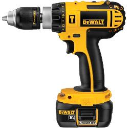 DeWALT® DCD775KL Compact High Performance Cordless Hammer Drill Kit, 1/2 in Metal Ratcheting Chuck, 18 VDC, 0 to 500 rpm, 0 to 1700 rpm No-Load, Lithium-Ion Battery