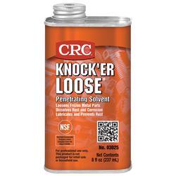 CRC® 03025 Knock'er Loose® Combustible Penetrating Solvent, 8 oz Spout Can, Liquid, Reddish, 0.84