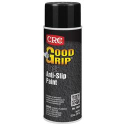 CRC® 18026 Good Grip™ Extremely Flammable Anti-Slip Paint, 16 oz, Liquid, Black, 7 sq-ft, 24 hr Curing