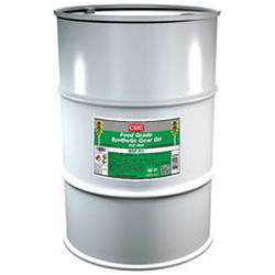 CRC® 04243 Combustible Synthetic Gear Oil, 55 gal Drum, Mild Odor/Scent, Liquid Form, Food/ISO 460 Grade, Clear