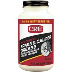 CRC® 05359 Brake Caliper Non-Flammable Synthetic Grease, 8 oz Can, Semi-Solid Grease, Dark Gray, -30 to 600 deg F