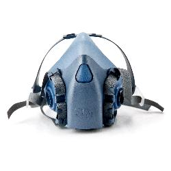 3M™ 7502 7500 Half Face Mask, M, Bayonet Connection