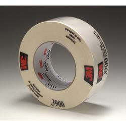 3M™ 3900-White Multi-Purpose Duct Tape, 54.8 m L x 48 mm W, 7.6 mil THK, Rubber Adhesive, Polyethylene Over Cloth Scrim Backing, White