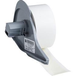Brady® M71C-1000-595-CL Blank Thermal Transfer Tape, 50 ft L x 1 in W, Clear, B-595 Vinyl, Permanent Acrylic Adhesive, -40 to 180 deg F