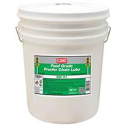 CRC® 04261 Combustible Proofer Oil Chain Lubricant, 5 gal Pail, Liquid, Clear, 0.87