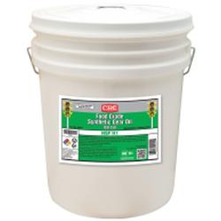 CRC® 04551 Non-Flammable Synthetic Gear Oil, 5 gal Pail, Solvent Odor/Scent, Bright Liquid Form, Food/ISO 150/SAE 40/85W-140 Grade, Clear