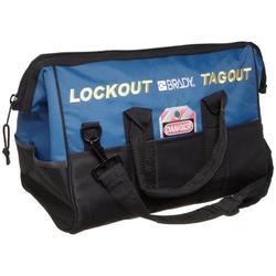 Brady® 99162 Lockout Duffel Bag, Bag Case, 8 Pockets, 600 Denier Polyester