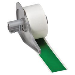 Brady® M71C-1000-595-GN Blank Thermal Transfer Tape, 50 ft L x 1 in W, Green, B-595 Vinyl, Permanent Acrylic Adhesive, -40 to 180 deg F